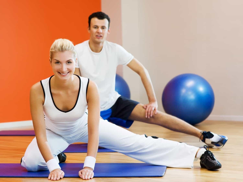 Фитнес для женщин, упражнения для похудения в