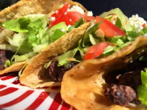 Black Bean Tacos with Lime