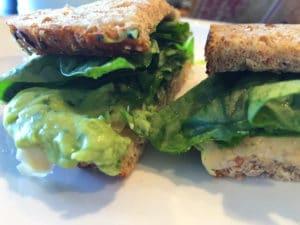 Garbanzo Avocado Sandwich