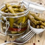 Lemon and Soy Marinated Jalapeno Peppers