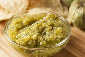 Serrano Tomatillo Salsa