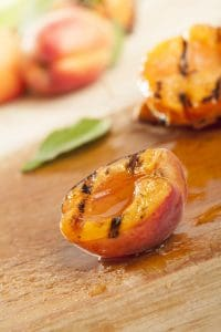 Honey Roasted Peaches