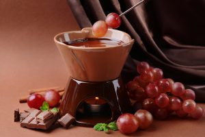 Dark Chocolate Dipped Grapes