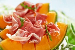 Cantaloupe and Prosciutto