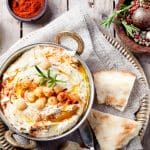 Spicy Garlic and Herb Hummus