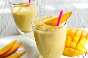 Pre-Workout Protein Vanilla Mango Smoothie