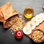 Honey Apple Granola Slices