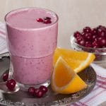 Cranberry Powder Protein Shake