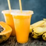 Post-Workout Papaya Protein Shake