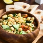 Garbanzo and Greens Salad