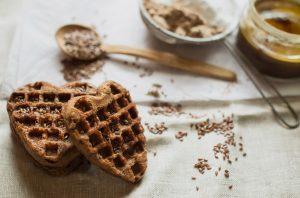Flourless Flaxseed Waffles