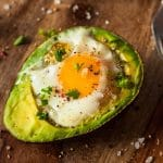 Oven-Baked Paprika and Egg Avocado