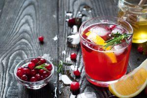 Fresh Antioxidant Rich Cranberry Juice