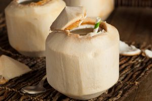 Fresh Raw Coconut Water