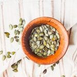 Olive Oil and Sea Salt Roasted Pumpkin Seeds