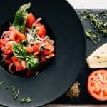 Tomato, Garlic, and Basil Salad