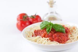 Chili and Italian Pasta