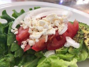 Avocado Tomato Lettuce Wraps