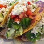 Mashed White Bean Tacos
