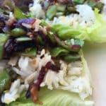 Red Leaf Lettuce Vegetable Wraps