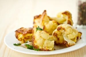 Salted and Fried Cauliflower