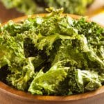 Crispy Garlic Kale Chips