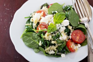 Healthy Spinach Salad