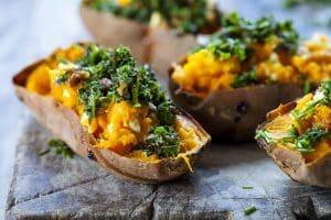 Garnished Yam Potatoes