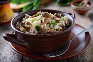 Tofu and Shiitake Teriyaki Rice Bowl