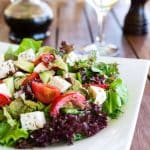 Seasoned Vegetable Vinaigrette Salad