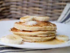 Fresh Amaranth Pancakes
