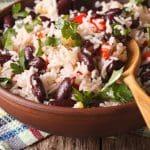 Brown Rice and Black Bean Bowl