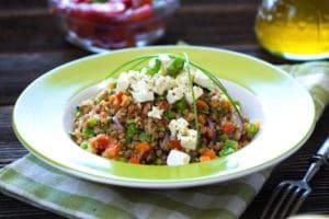 Amaranth and Vegetable Stir Fry