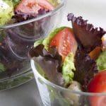 Romaine Garlic and Balsamic Veggie Salad