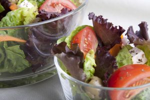 Romaine Garlic and Balsamic Veggie Salad